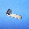 Nemesacél Medálrögzítő (STAS-74/1 db), Gyöngy, ékszerkellék, Ékszerkészítés,  Nemesacél Medálrögzítő (STAS-73/1 db) - ragasztható - platinum színben  Mérete: 14x4 mmA lyuk átmé..., Alkotók boltja