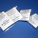 Gyertyaszínezék (2 g) - kék, Vegyes alapanyag, Gyertya,  Gyertyaszínezék - kék  Kb. 2 kg viasz megfestéséhez elegendõ.  A felolvasztott (színezni kí..., Alkotók boltja