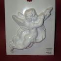 Vallás-1 - gipszöntő forma (1 motívum) - angyal kürttel, Szerszámok, eszközök, Egyéb szerszám, eszköz, Gipszöntés,      Vallás-1 - gipszöntő forma - angyal kürttel  Mérete: - sablon: 35x31 cm- minta: 25-26 cm Az ár..., Alkotók boltja