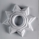 Mécses-24 - gipszöntő forma (1 motívum) - csillag, Szerszámok, eszközök, Egyéb szerszám, eszköz, Gipszöntés,             Mécses-24 - gipszöntő forma - csillag  - sablon: 15x20 cm- minta: 14 cm Az ár egy darab..., Alkotók boltja