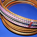 Díszített drótarika (Ø 20 cm/1 db) - rózsaszín, Vegyes alapanyag, Mindenmás,     Díszített drótkarika - rózsaszín    Mérete: Ø 20 cmDrót vastagsága: Ø 3 mm    Az ár egy darab k..., Alkotók boltja