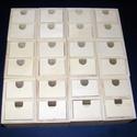 Kreatív adventi fiókos tároló (12 részes szett) - összerakható, Fa, Famegmunkálás, Egyéb fa,    Kreatív adventi fiókos tároló (12 részes) - összerakható Készíts egyedi adventi naptárat dekorál..., Alkotók boltja