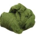 Festett gyapjú (5 g) - zöld, Textil,  Festett gyapjú - zöld  Kiszerelés: 5 g Többféle színben.Az ár 5 g termékre vonatkozik.  ..., Alkotók boltja