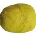 Festett gyapjú (5 g) - sárga, Textil,  Festett gyapjú - sárga  Kiszerelés: 5 g Többféle színben.Az ár 5 g termékre vonatkozik.  ..., Alkotók boltja