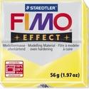 Fimo effect-104 (1 db) - átlátszó sárga, Vegyes alapanyag,  Fimo effect - 104 - átlátszó sárga  Mérete: 55x55 mmSúlya: 56 g  Felhasználási javaslat: G..., Alkotók boltja