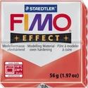 Fimo effect-204 (1 db) - átlátszó piros, Vegyes alapanyag,  Fimo effect - 204 - átlátszó piros  Mérete: 55x55 mmSúlya: 56 g  Felhasználási javaslat: Gy..., Alkotók boltja