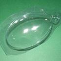 Tojástartó (1 db) - lúd, Csomagolóanyag, Mindenmás,  Tojástartó - lúd   Műanyag víztiszta tojástartó, lúdtojás méretben.  Mérete: 15,5x8,5 cm (a tojás ..., Alkotók boltja