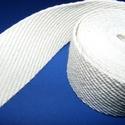 Gurtni (40 mm/1 m) - fehér, Textil,   Gurtni - fehér   Kiváló minőségű, nagyon erős pamut alapanyagú klasszikus redőnygurtni. ..., Alkotók boltja