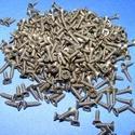 Csavar-7 (8x2 mm/10 db) - bronz  , Csat, karika, zár, Mindenmás,  Csavar-7 - bronz színű  Mérete: 8x2 mmFejátmérő: 4 mm  A csomag tartalma 10 db csavar Az ár egy cs..., Alkotók boltja
