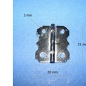 Zsanér (12. minta/1 db) - 25x20 mm, Csat, karika, zár, Alkotók boltja