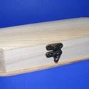 Fa tolltartó (1 db), Fa,  Tolltartó   Mérete: 7,5x21x5,5 cmAnyaga: natúr fa, nem pácolt, nem kezelt  Az ár egy darab ter..., Alkotók boltja