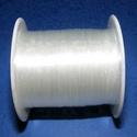 Damil (Ø 0,8 mm/1 db), Gyöngy, ékszerkellék,  Damil - színtelenKiváló minőségű, nagyon erős, fűzésre alkalmas damil.Mérete: Ø 0,8 mmA ..., Alkotók boltja