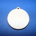 Fa alap (160. minta/1 db) - akasztós kör (Ø 35 mm), Fa, Alkotók boltja