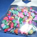 Ásványfüzér-49 (1 füzér) - szintetikus ásványkövek , Gyöngy, ékszerkellék,   Ásványfüzér-49 (1 füzér) - szintetikus ásványkövek   A füzér hossza: kb. 90 cmA kövek mérete: 5-8 ..., Alkotók boltja