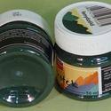 Textilfesték (50 ml) - fenyőzöld, Festék, Textilfesték, Festékek,  Textilfesték (50 ml) - fenyőzöld  Vízbázisú, jól fedő festék textil díszítésére. Ecsettel, szivacc..., Alkotók boltja