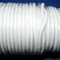 Hasított bőrszíj - 5 mm (3. minta/25 m) - fehér, Vegyes alapanyag, Egyéb alapanyag, Bőrművesség, Hasított bőrszíj (3. minta) - tekercses - fehérMérete: 5 mm átmérőjűValódi hasított marhabőrből kés..., Alkotók boltja