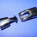 Kapocs 5m-es bőrökhöz (318/D. minta/1 db), Gyöngy, ékszerkellék,  Kapocs 5mm-es bőrökhöz (318/D. minta/1 db)  A kapocs elsősorban bőr karperecek készítéséhe..., Alkotók boltja
