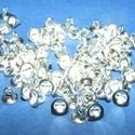 Gyöngykupak akasztó(45/E. minta/10 db) ezüst, Gyöngy, ékszerkellék, Egyéb alkatrész,  Gyöngykupak akasztó(45/E. minta/10 db) ezüst  Mérete: 4x3,5 mm  A furat mérete 1 mm  Az ár 10..., Alkotók boltja