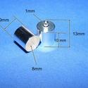 Bőrvég (35 minta/1 db) - 9x13 mm, Gyöngy, ékszerkellék, Ékszerkészítés,  Bőrvég (35 minta/1 db) - 9x13 mm  Mérete: 13x9 mm (belső átmérő: 8 mm)  Az ár egy darab termékre v..., Alkotók boltja