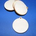 Fa alap (160. minta/1 db) - akasztós kör (Ø 35 mm),  Fa alap (160. minta) - akasztós kör     Mére...