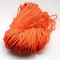 Paracord zsinór-18 (4-5 mm/1 m) - sötét narancssárga, Gyöngy, ékszerkellék, Ékszerkészítés,  Paracord zsinór-18 - sötét narancssárga  Az év nagy slágere a paracord, ami nem csak divat, hanem ..., Alkotók boltja