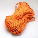 Paracord zsinór-2 (4-5 mm/1 m) - narancssárga, Gyöngy, ékszerkellék, Ékszerkészítés,  Paracord zsinór-2 - narancssárga  Az év nagy slágere a paracord, ami nem csak divat, hanem kifejez..., Alkotók boltja