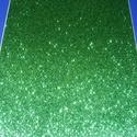 Glitteres dekorgumi (A/4 méret/1 db) - zöld, Vegyes alapanyag, Mindenmás,  Dekorgumi - glitteres - zöld - A/4 méret  Az egyik legnépszerűbb és legolcsóbb alapanyag, sok tech..., Alkotók boltja