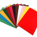 Dekorfilc (2 mm/puha) - türkiz, Textil, Alkotók boltja