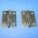 Zsanér (4. minta/1 db) - 25x18 mm, Csat, karika, zár, Mindenmás,   Zsanér (4. minta) - antik bronz színben  A zsanér mérete: 25x18 mmA furat mérete: 3 mm  Az ár egy..., Alkotók boltja