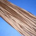 Bőrszíj - 3x1 mm (106. minta/1 db) - csokibarna, Egyéb alapanyag, Bőrművesség,  Bőrszíj (106. minta) - csokibarnaValódi, puha hasított marhabőrből készült.Nyaklánc alapokhoz és f..., Alkotók boltja
