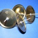 Gyertyatüske arany(1 db) - Ø 48 mm, Vegyes alapanyag,   Gyertyatüske arany színben.  Tárcsaméret: Ø 48 mm  Többféle méretben.Az ár egy darab term..., Alkotók boltja