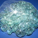Üvegkavics-5 (300 g) - zöldeskék, Vegyes alapanyag, Mindenmás,    Üvegkavics-5 - zöldeskék A lencsék mérete: 2 cmKiszerelés: kb. 300 g   Többféle színben.  Az ár ..., Alkotók boltja