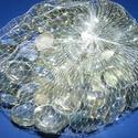Üvegkavics-1 (300 g) - átlátszó, Vegyes alapanyag, Mindenmás,      Üvegkavics-1 - átlátszó A lencsék mérete: 2 cmKiszerelés: kb. 300 g   Többféle színben.  Az ár..., Alkotók boltja