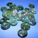 Üvegkavics-14 (300 g) - csillogó zöld, Vegyes alapanyag,    Üvegkavics-14 - csillogó zöld A lencsék mérete: 2-3 cmKiszerelés: kb. 300 g   Többféle sz..., Alkotók boltja