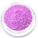 Csillámpor (15. minta/1 db) - irizáló lila, Vegyes alapanyag,    Csillámpor (15. minta) - irizáló lila  Testfestéshez, dekorációhoz használható nagy tiszt..., Alkotók boltja