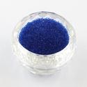 Szórógyöngy-2 (~ 6,5 g) - átlátszó királykék, Vegyes alapanyag,  Szórógyöngy-2 - királykék - átlátszó  Apró szemű műanyag gyöngyök, melyeket általáno..., Alkotók boltja