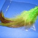 Dekorációs toll-42 (4 db) - zöld-oliva, Vegyes alapanyag,  Dekorációs toll-42 - zöld-oliva  A tollak mérete: 10-12 cm A csomag tartalma 4 db madártoll. ..., Alkotók boltja
