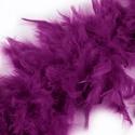 Nagytollas boa (2 m) - lila, Vegyes alapanyag,  Nagytollas boa - lila színben  Mérete: 200 cm  Többféle színben.Az ár egy darab termékre von..., Alkotók boltja