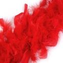 Nagytollas boa (2 m) - piros, Vegyes alapanyag,  Nagytollas boa - piros színben  Mérete: 200 cm  Többféle színben.Az ár egy darab termékre vo..., Alkotók boltja