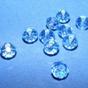Csiszolt üveggyöngy-22 (4x6 mm/10 db) - zafír, Gyöngy, ékszerkellék,  Csiszolt üveggyöngy-22 - zafír  Mérete: 4x6 mmFurat: 1 mm  Kiszerelés: 10 db/csomag Az ár egy..., Alkotók boltja