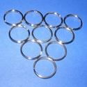 Kulcskarika (460/C minta/10 db) - 25 mm, Csat, karika, zár, Mindenmás,  Kulcskarika (460/C minta) - nikkel színben  Mérete: 25x2 mmAz ár 10 darab termékre vonatkozik.  , Alkotók boltja