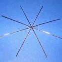 Drótcsillag - 8 ágú (11 cm/1 db), Drót,  Drótcsillag alap - 8 ágú - réz színbenMérete: 11 cmHuzalvastagság: 0,6 mm  A csillag alap felhaszná..., Alkotók boltja