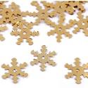 Flitter-70 (3 g/csomag) - 13mm arany (hópehely), Gyöngy, ékszerkellék, Varrás,  Flitter-70 (3 g/csomag) - 13mm arany (hópehely)  Mérete: Ø 13 mmA furat mérete: 1 mm  Kiszerelés:..., Alkotók boltja
