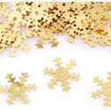 Flitter-72 (3 g/csomag) - 19mm arany (hópehely), Gyöngy, ékszerkellék, Varrás,  Flitter-72 (3 g/csomag) - 19mm arany (hópehely)  Mérete: Ø 19 mmA furat mérete: 1 mm  Kiszerelés:..., Alkotók boltja