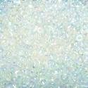 Cseh üveggyöngy-24 (2 mm/10 g) - irizáló átlátszó színtelen, Gyöngy, ékszerkellék,  Cseh üveggyöngy-24 - átlátszó - színtelen - irizáló   Kiváló minőségű cseh (preciosa) ..., Alkotók boltja