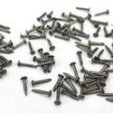 Szög-8 (8x2 mm/20 db) - antik bronz, Csat, karika, zár, Mindenmás,  Szög-8 (8x2 mm/20 db) - antik bronz  Mérete:   8mm teljes hossz  2mm fej átmárő  1mm szár átmérő  ..., Alkotók boltja