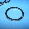 Kulcskarika (468/P minta/1 db) - 30 mm, Csat, karika, zár, Mindenmás,  Kulcskarika (468/P minta) - platinum színben - lapos  Mérete: 30(belül 25mm)x2 mm  Az ár egy darab..., Alkotók boltja