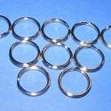 Kulcskarika (460. minta/1 db) - 30 mm, Csat, karika, zár, Mindenmás,  Kulcskarika (460. minta) - nikkel színben  Mérete: 30x2 mmAz ár 1 db termékre vonatkozik.  , Alkotók boltja