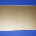 Viaszlap (20x10 cm) - arany, Gyertya, Gyertyaöntés,    Viaszlap - arany  Mérete: 20x10 cm Az öntapadós, vékony viaszfólia  segítségével elkészítheti a..., Alkotók boltja