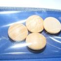 Falencse (Ø 15 mm/4 db) - natúr, Cabochon,    Lencse alakú fagomb - natúr Mérete: Ø 15 mmAnyaga: natúr fa, nem pácolt, nem kezelt   Az á..., Alkotók boltja